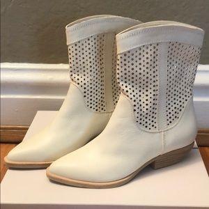 Dolce Vita White Cowboy Boots